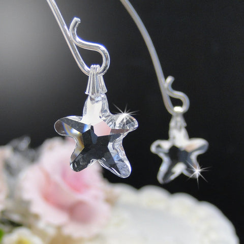Beach, Cake Decor, Cake Drops, Cake Toppers, Clear, Silver, Starfish