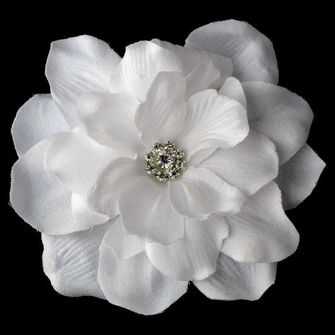 Hair Clip, Hair Flowers, Headpieces, Ivory, White
