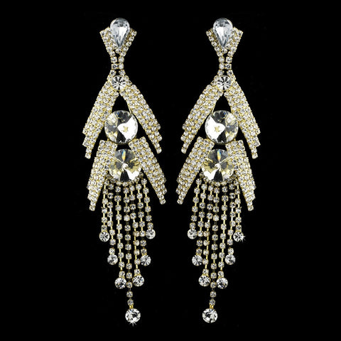 Chandelier, Clear, Crystals, Earrings, Gold, Jewelry, Marquise, Rhinestones