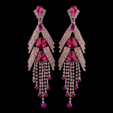 Chandelier, Crystals, Earrings, Jewelry, Marquise, Pink, Rhinestones, Silver