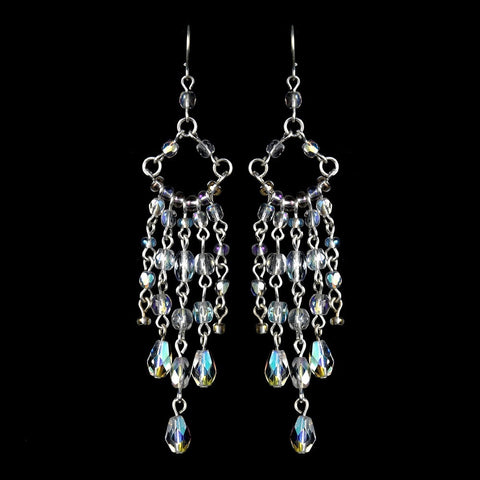 AB, Chandelier, Crystals, Earrings, Jewelry, Sale, Silver, Swarovski Crystal Beads