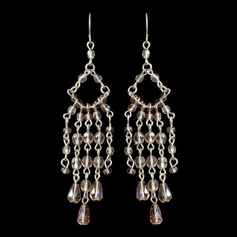 Chandelier, Crystals, Earrings, Jewelry, Pink, Sale, Silver, Swarovski Crystal Beads