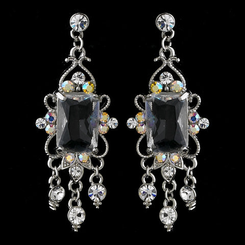 AB, Chandelier, Earrings, Gemstones, Jewelry, Rhinestones, Rhodium