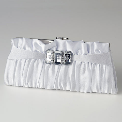 Accessories, Black, Cream, Evening Bag, Silver, White
