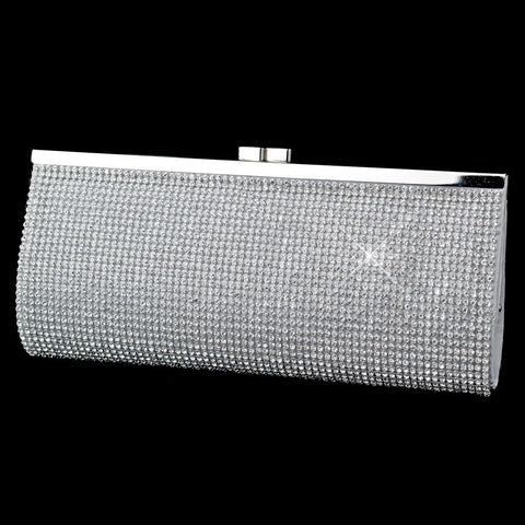 Accessories, Clear, Evening Bag, Gold, Silver