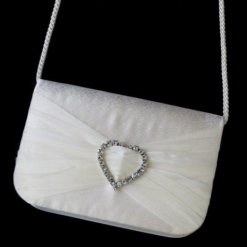 Accessories, Black, Evening Bag, Hearts, Ivory, Sale, Valentine's Day