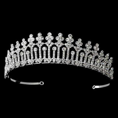 Clear, Headpieces, Pageant Crowns, Rhinestones, Sale, Silver, Tiara