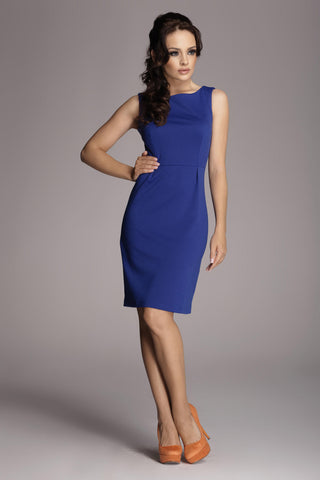 Sleeveless Little Deep Blue Dress