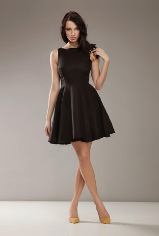 Little Black Sleeveless Cocktail Dress