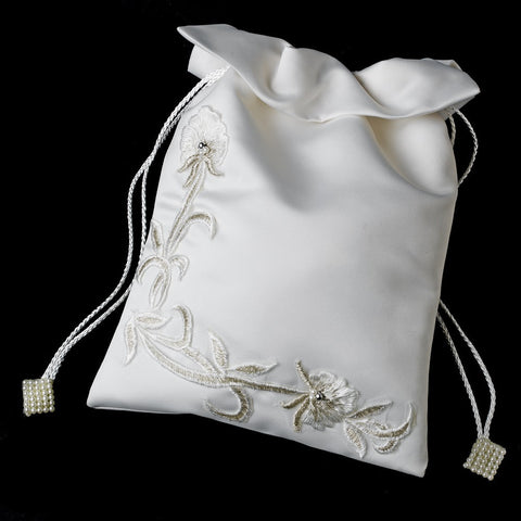 Accessories, Ivory, Lily, Money Bag, Reception, White