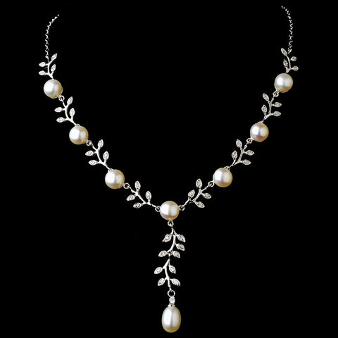 necklace vine jewelersadam and zirconia gold s cubic drop product adam