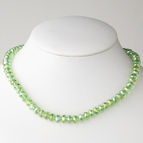Green, Jewelry, Necklace, Peridot, Silver
