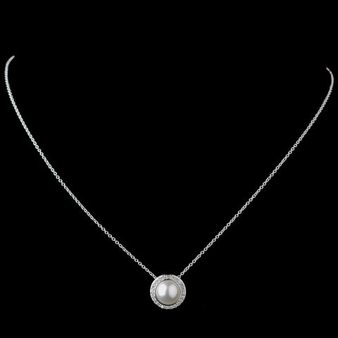 Jewelry, Necklace, Solid 925 Sterling Silver, Sterling Silver, White