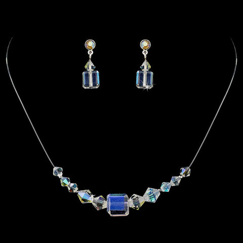AB, Illusion Jewelry, Jewelry, Jewelry Set, Sale, Silver