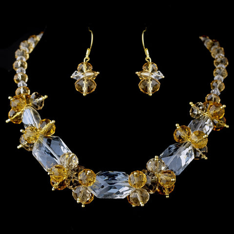 Gold, Jewelry, Jewelry Set, Sale, Topaz