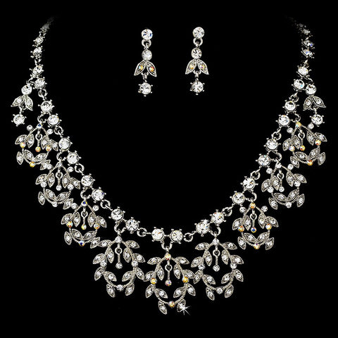 AB, Jewelry, Jewelry Set, Rhodium