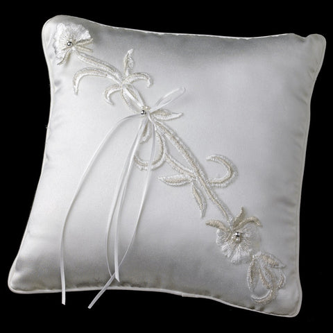 Accessories, Ceremony, Children's Accessories, Ivory, Lily, Ring Pillow, White