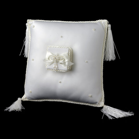 Accessories, Ceremony, Children's Accessories, Ivory, Ring Pillow, White