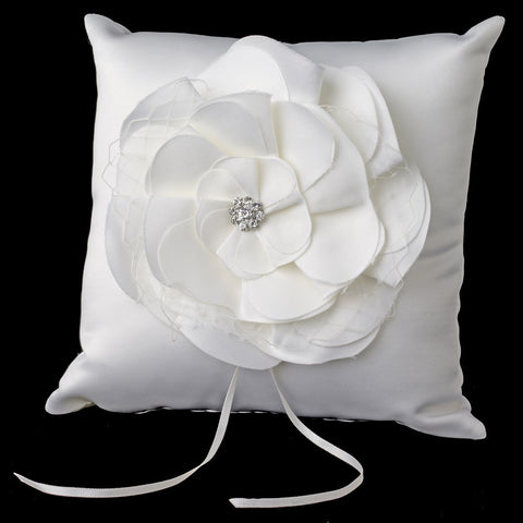 Accessories, Ceremony, Children's Accessories, Flower, Ivory, Ring Pillow