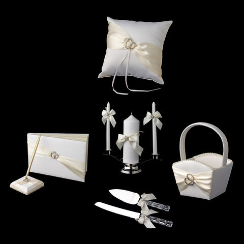 Accessories, Ivory, Reception, Reception Set, Ring, White