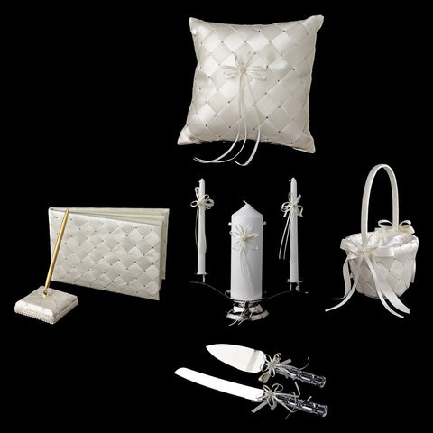 Accessories, Ivory, Reception, Reception Set, White
