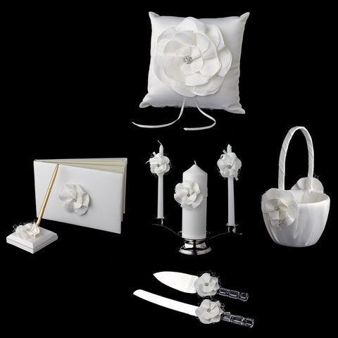 Accessories, Flower, Ivory, Reception, Reception Set