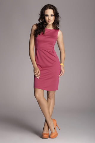 Sleeveless Little Fuchsia Dress