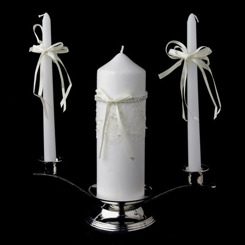 Accessories, Candle, Centerpiece, Ivory, Lace, Reception, White