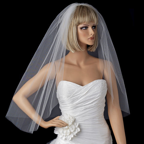 Cathedral, Cut, Diamond White, Double, Elbow, Fingertip, Ivory, Shoulder, Single, Veil, Waltz, White