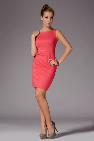 Sleeveless Little Coral Dress