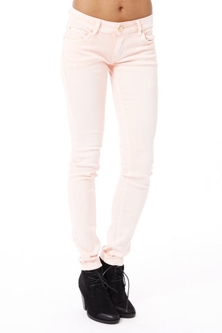 Coral Stretchy Skinny Jeans-Coral-UK 10 - EU 38