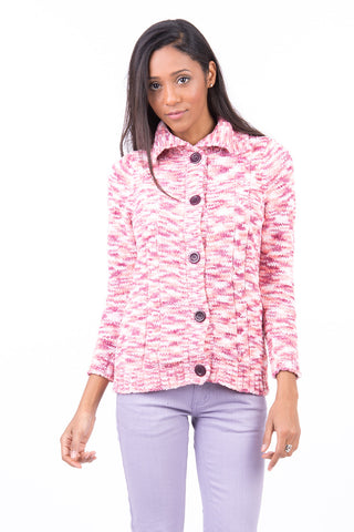 Multi Coloured Soft Cardigan-Multi-Medium - UK (10-12)