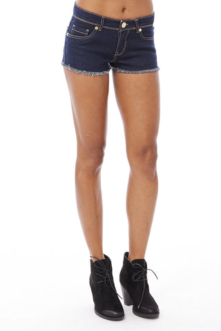 Denim Hot Pant Shorts Ex-Branded-Denim-UK 14 - EU 42