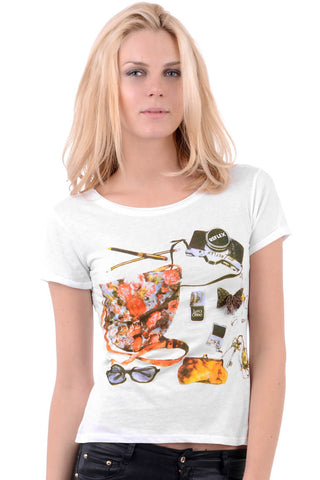 T.Shirt With Girly Print