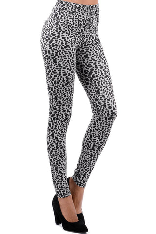 Animal Print Jeggings