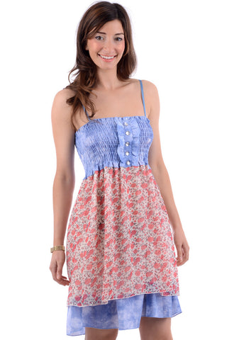 Floral Strappy Summer Dress
