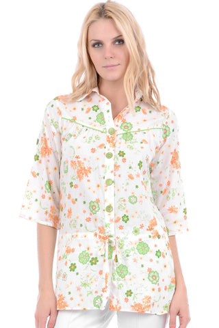 Floral Oversized Shirt