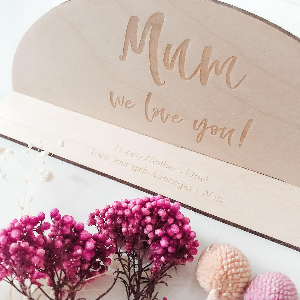 Mother's Day desk plaque