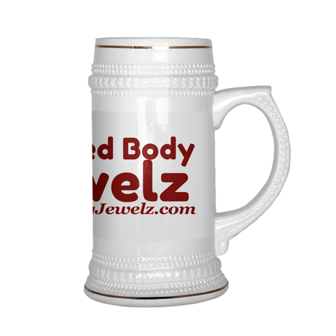 Wicked Body Jewelry Beer Stein