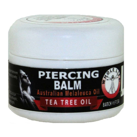 Whole Life Piercing Balm with Tea Tree Oil and other Essential Oils