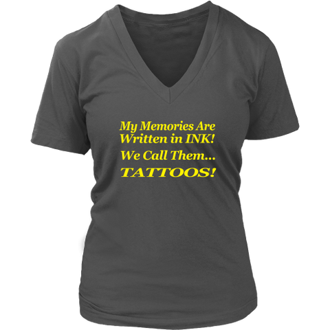 Womens T-Shirt. Memories