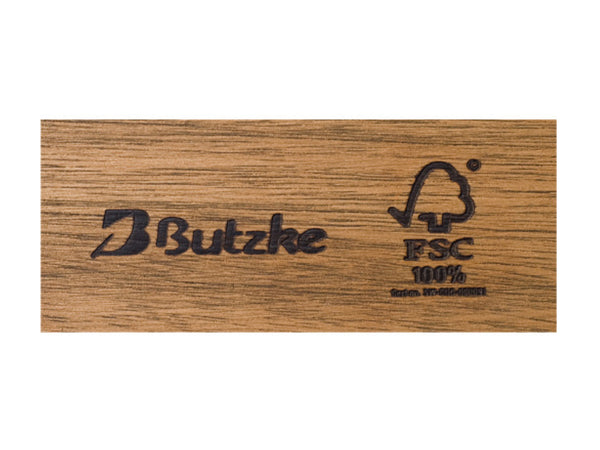 Butzke is a FSC Certified manufacturer using only plantation grown eucalyptus from well managed forests.