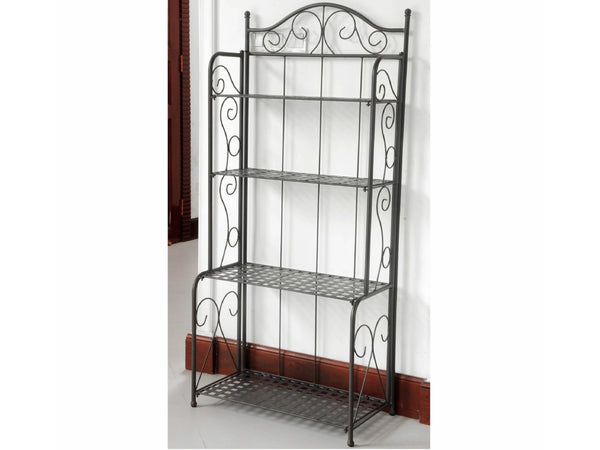 Iron Porch or Patio Bakers Rack