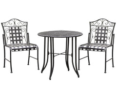Mandalay 3 Piece Iron Bistro Set for only $238