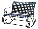 Mandalay Iron Porch Double Rocker for only $169