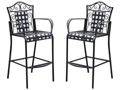 Mandalay Iron Bar Bistro Chairs Set of 2 for only $189