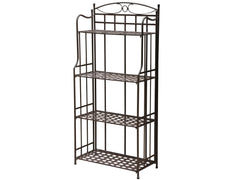 Santa Fe Iron Bakers Rack for only $129