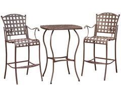 Santa Fe 3 Piece Iron Bar Bistro Set for only $248