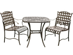 Santa Fe 3 Piece Iron Bistro Set for only $275