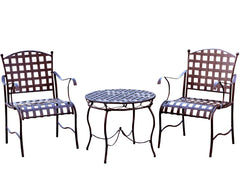 Santa Fe 3 Piece Iron Conversation Set for only $265